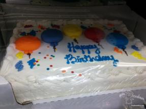 Costco Birthday Cake 1