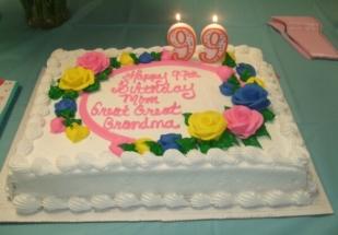 Costco Birthday Cake 3