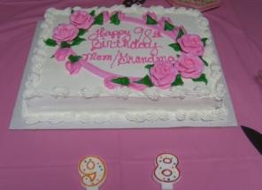 Costco Birthday Cake 6