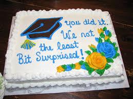 Costco Graduation Cake Example 4