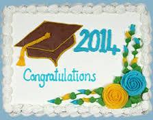 Costco Graduation Cake Example 5
