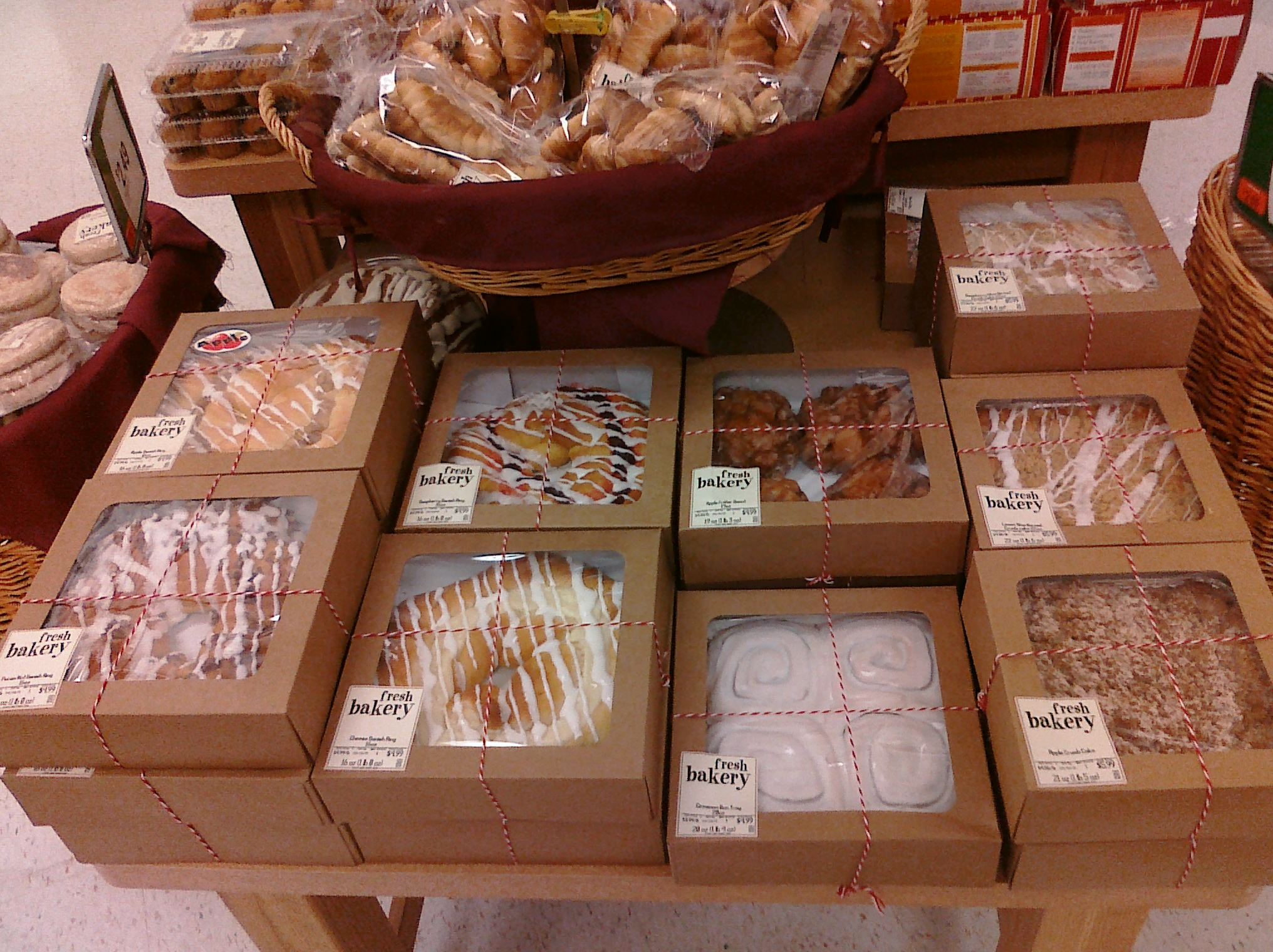 Stop And Shop Bakery Products Pictures And Order Information